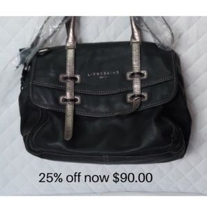 Free shipping on leather purse.